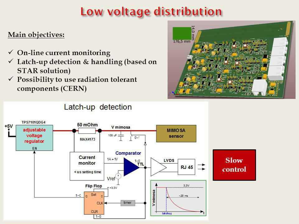 Low voltage distribution