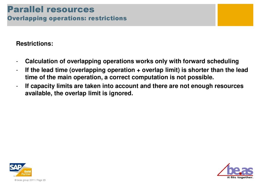 Parallel resources ppt download