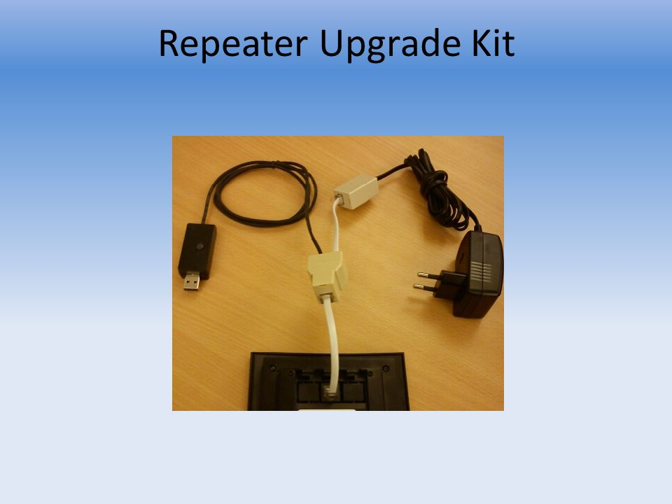 Repeater Upgrade Kit