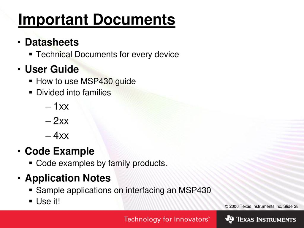 MSP430 Ultra-Low-Power MCUs - ppt download