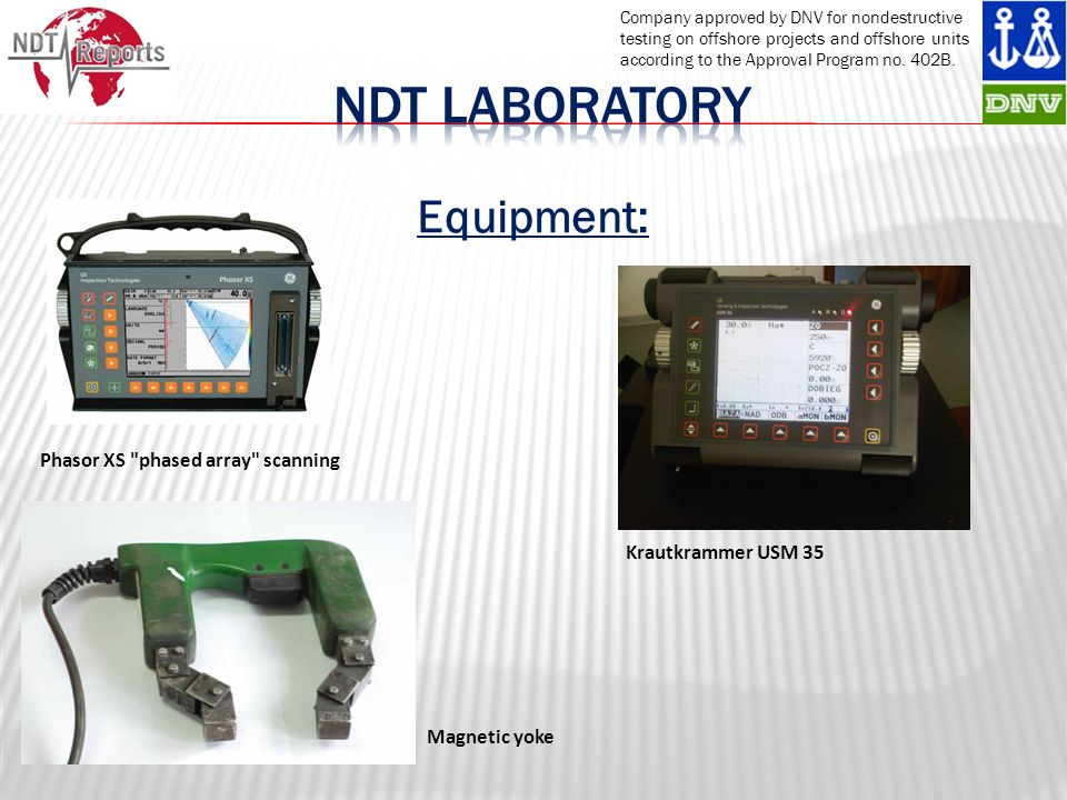 Ndt laboRatory Equipment: Phasor XS phased array scanning