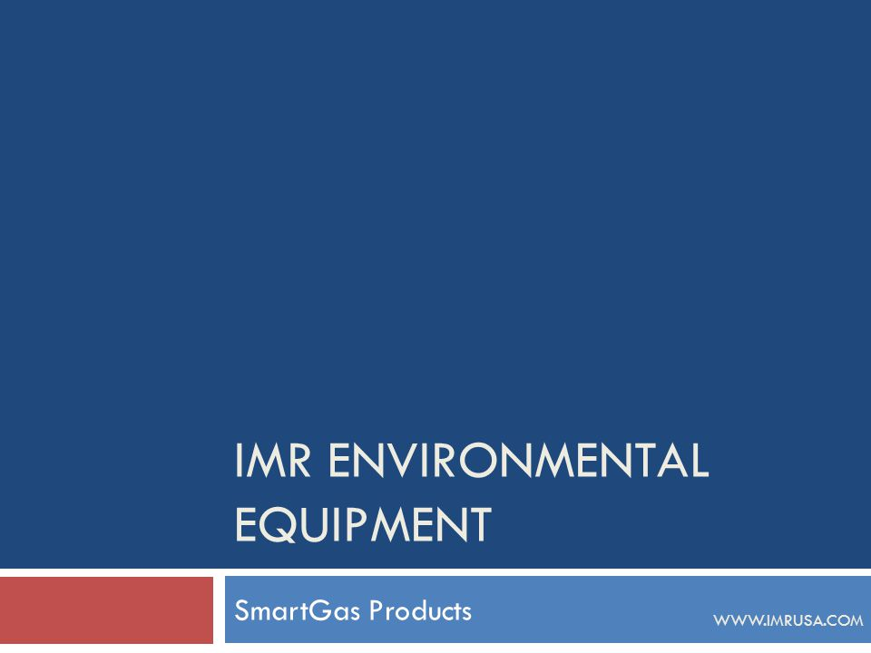 IMR Environmental Equipment