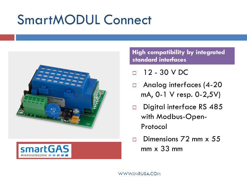 SmartMODUL Connect 12 - 30 V DC