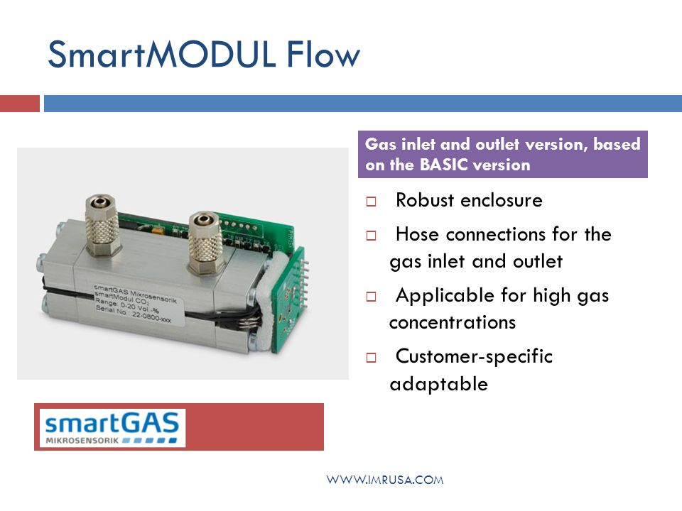 SmartMODUL Flow Robust enclosure