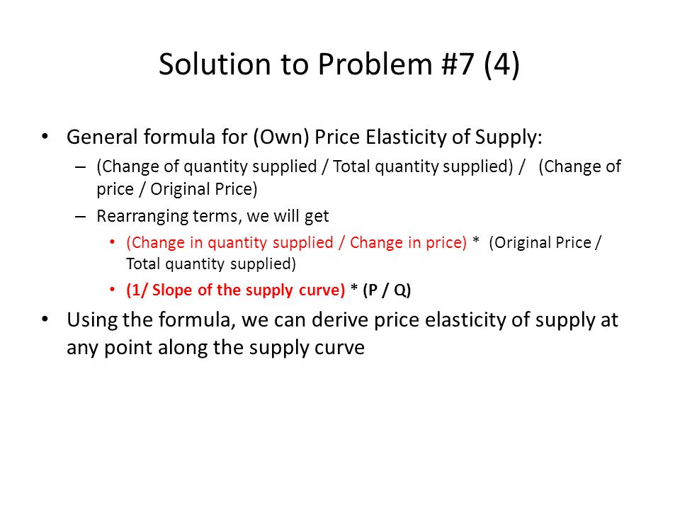 Chapter 4 Elasticity Odd Number Questions Ppt Video Online Download