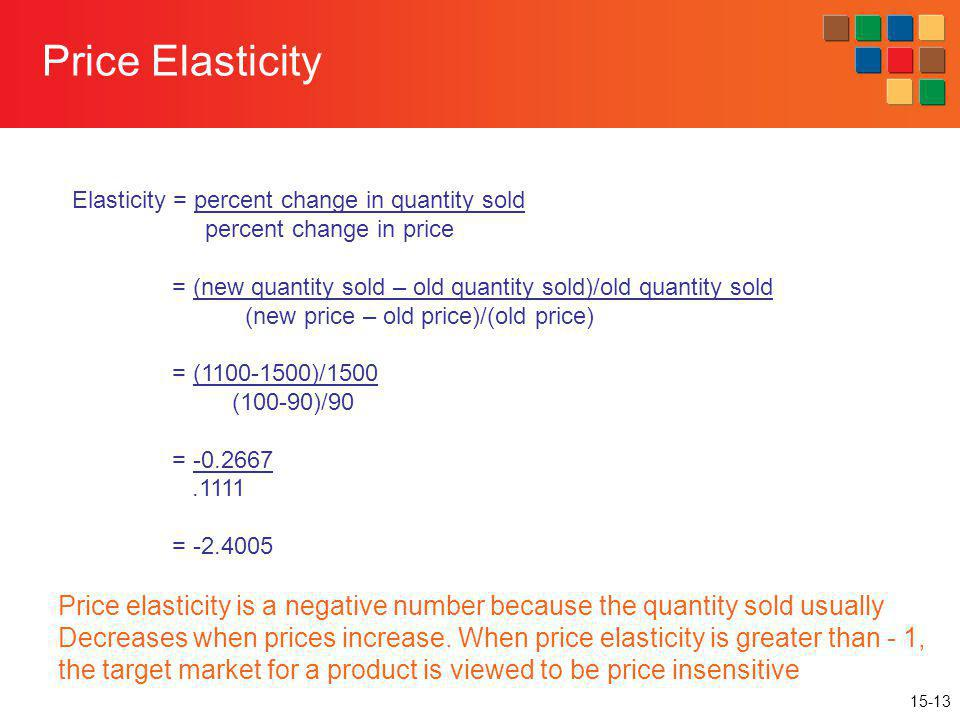 how to calculate percent change in quantity