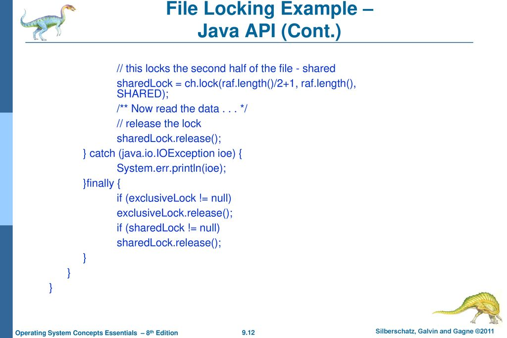 Chapter 9: File-System Interface - ppt download