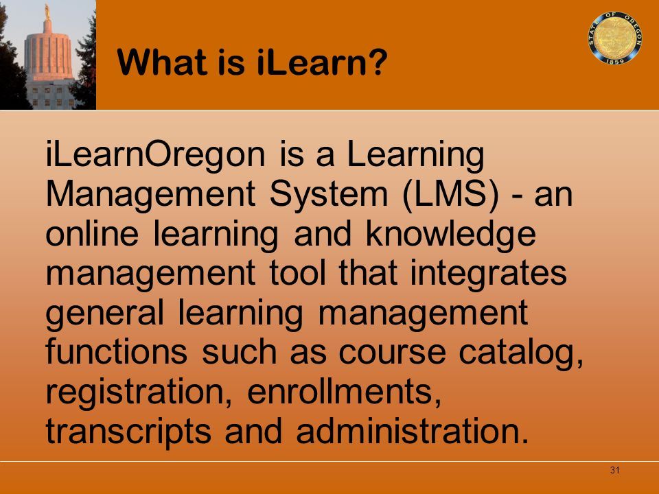 What is iLearn