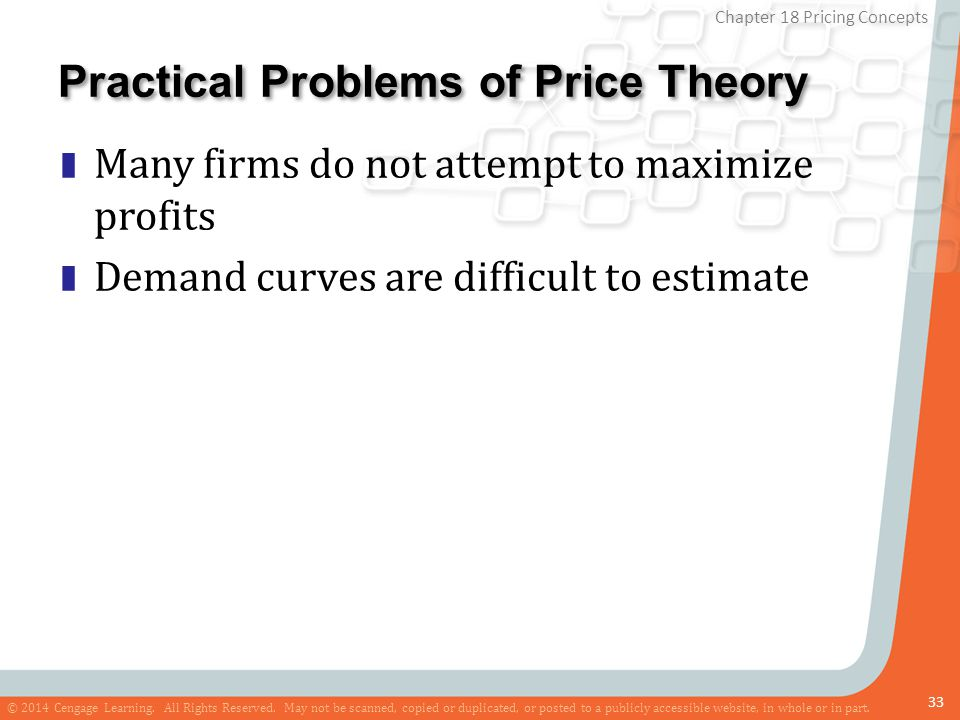 Practical Problems of Price Theory