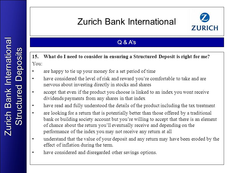 Zurich Bank International