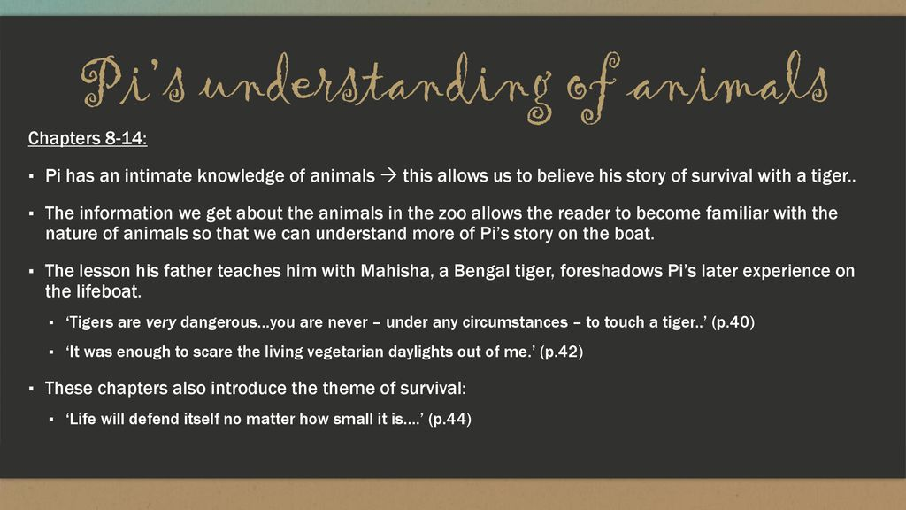 Life of Pi By Yann Martel  - ppt download