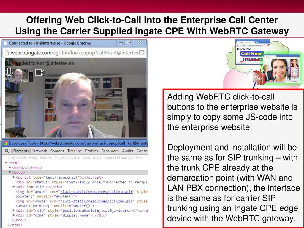 What's Next For SIP Trunking? WebRTC in the Enterprise - ppt