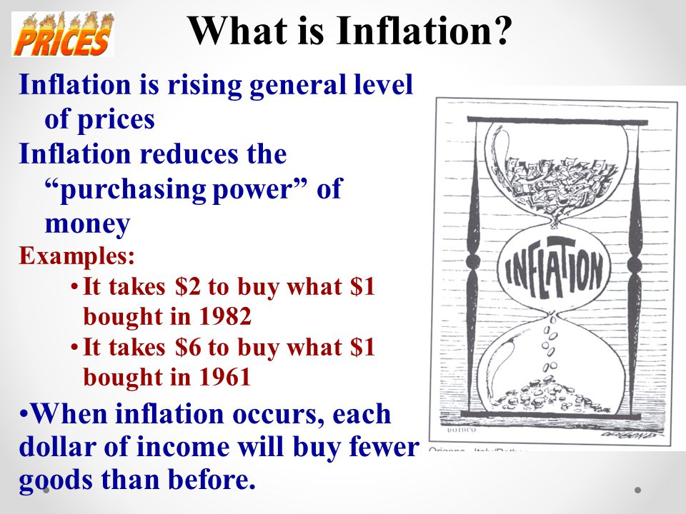 disadvantages of inflation Disadvantages of currency pegs increased foreign influence: on the flipside, countries which adopt a german bundesbank increased the interest rates because of domestic concerns on inflation.