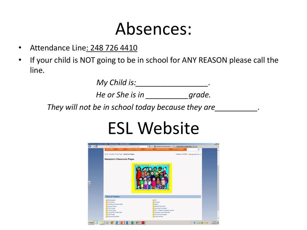 University Hills ESL Parent Club Meeting - ppt download