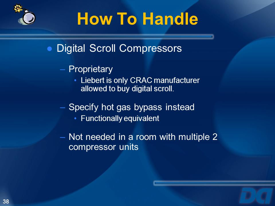 How To Handle Digital Scroll Compressors Proprietary