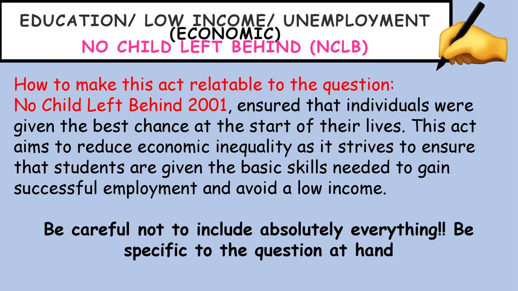 No Inequality Left Behind >> Supported Study Government Initiatives To Address Inequality Ppt