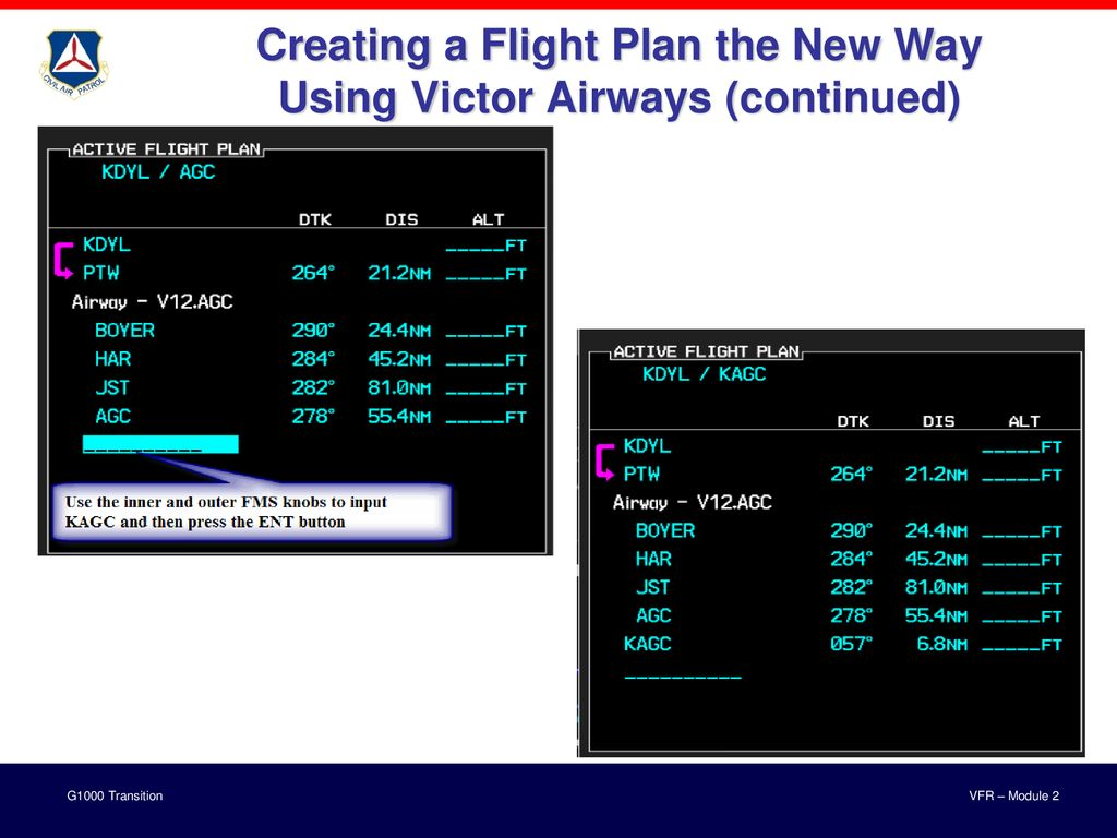 VFR – Module 2 With NJWG Annotations 18 JAN ppt download