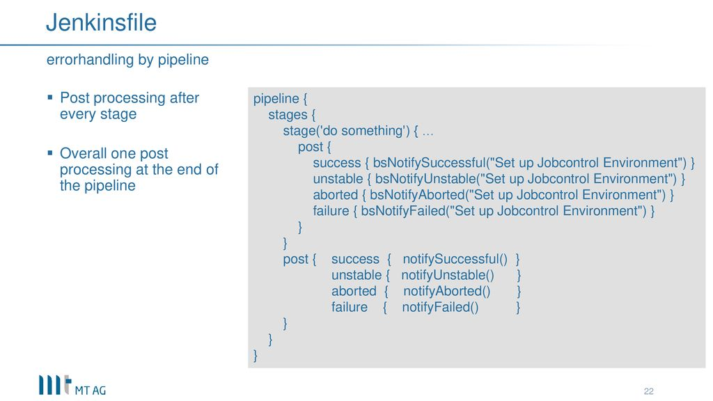 Jenkins Pipeline meets Oracle - ppt download