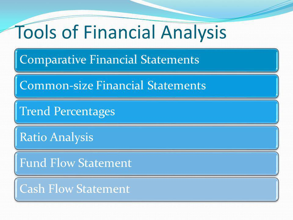 Tools of Financial Analysis