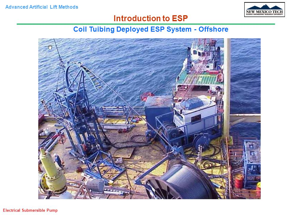 Coil Tuibing Deployed ESP System - Offshore