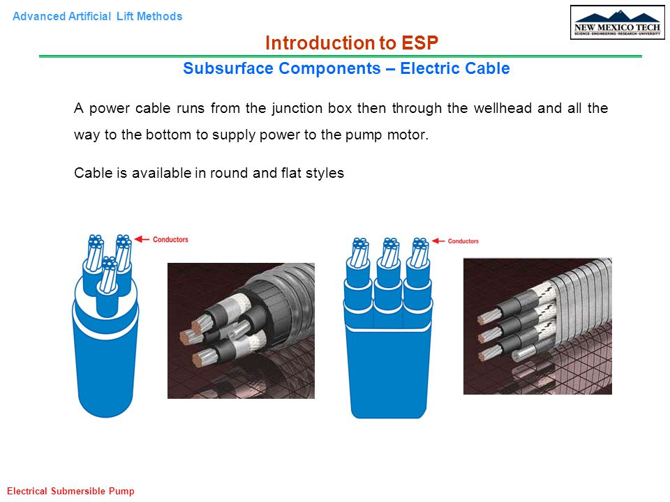 Subsurface Components – Electric Cable
