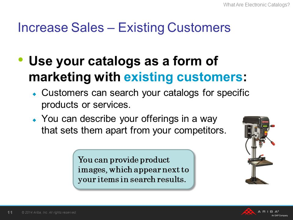 Increase Sales – Existing Customers