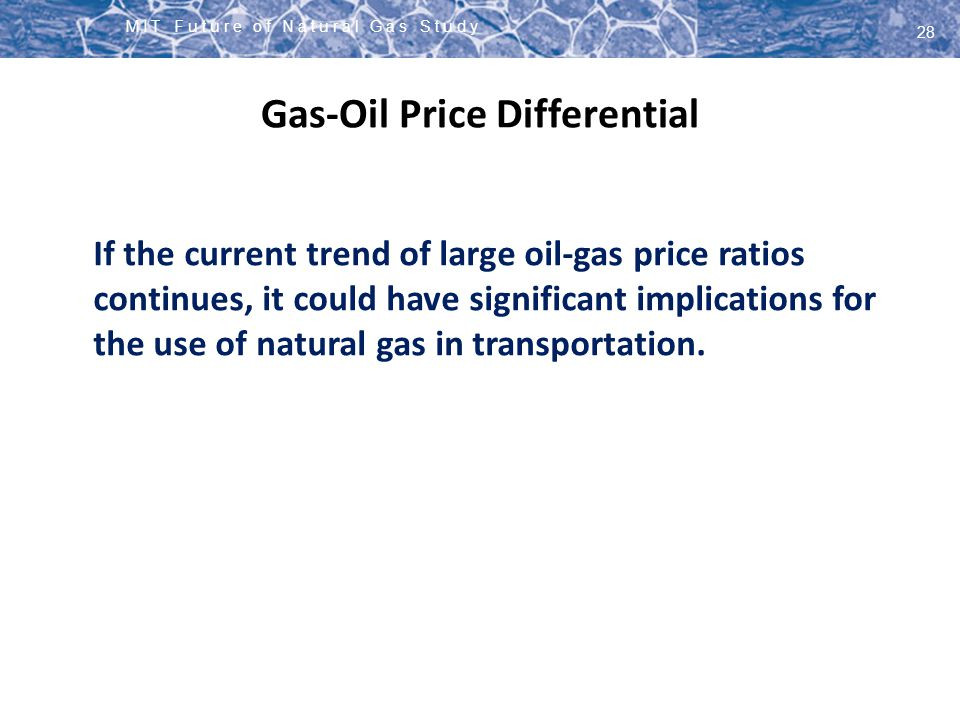 Gas-Oil Price Differential