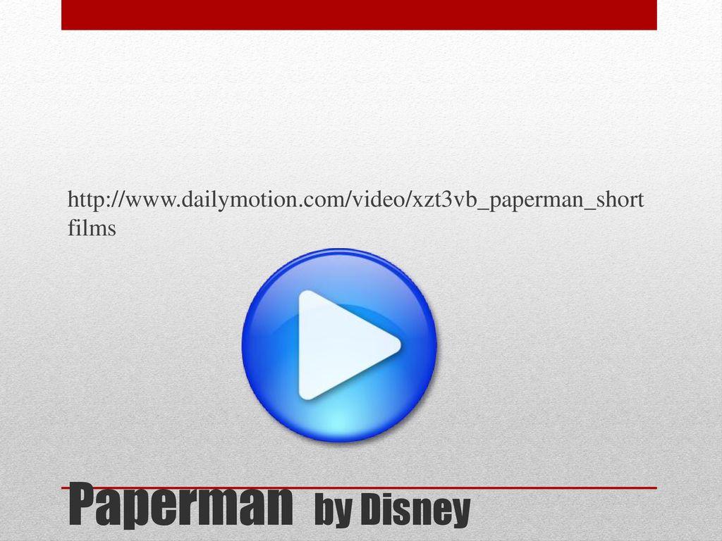 Dailymotion Paperman