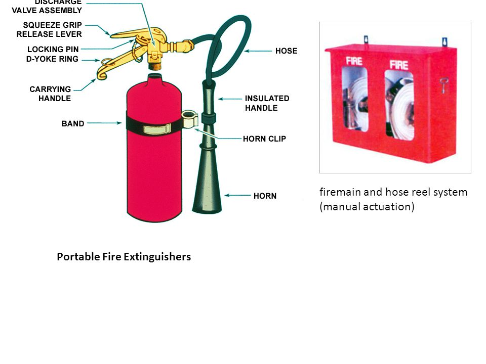 firemain and hose reel system