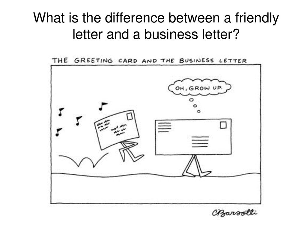 Friendly Business Letter Format from slideplayer.com