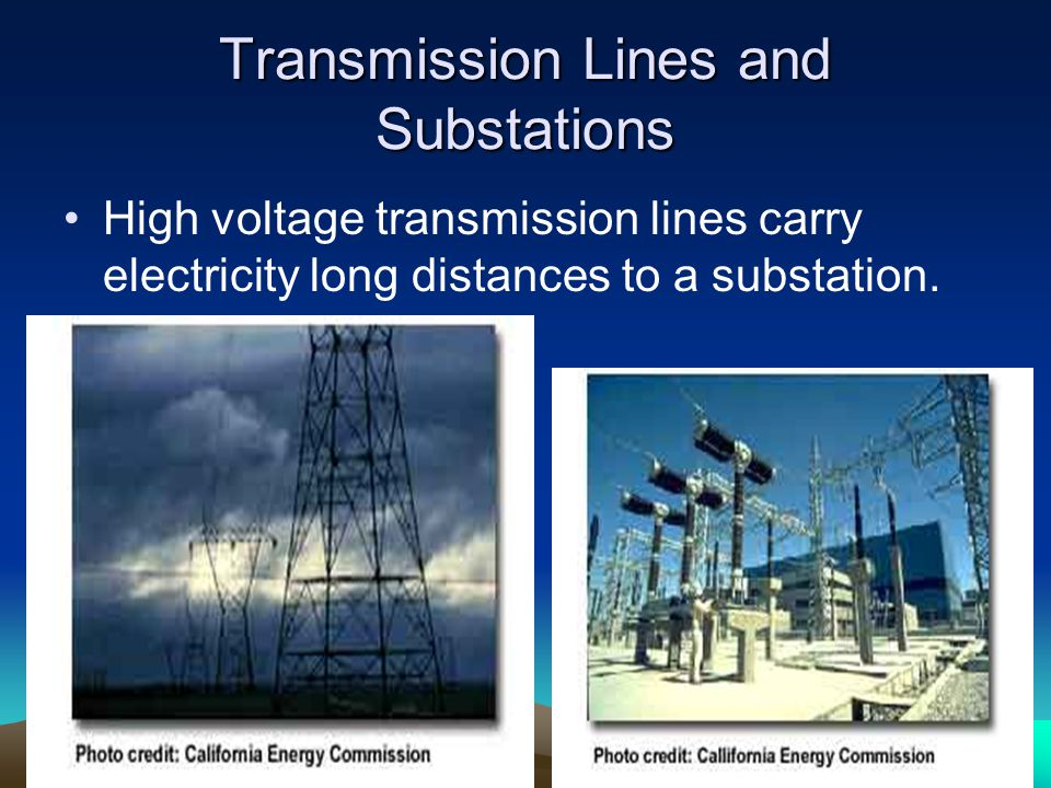 Transmission Lines and Substations