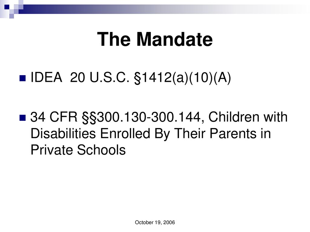 The Child Find Mandate What Does It >> Equitable Participation Ep Child Find Free And Appropriate Public