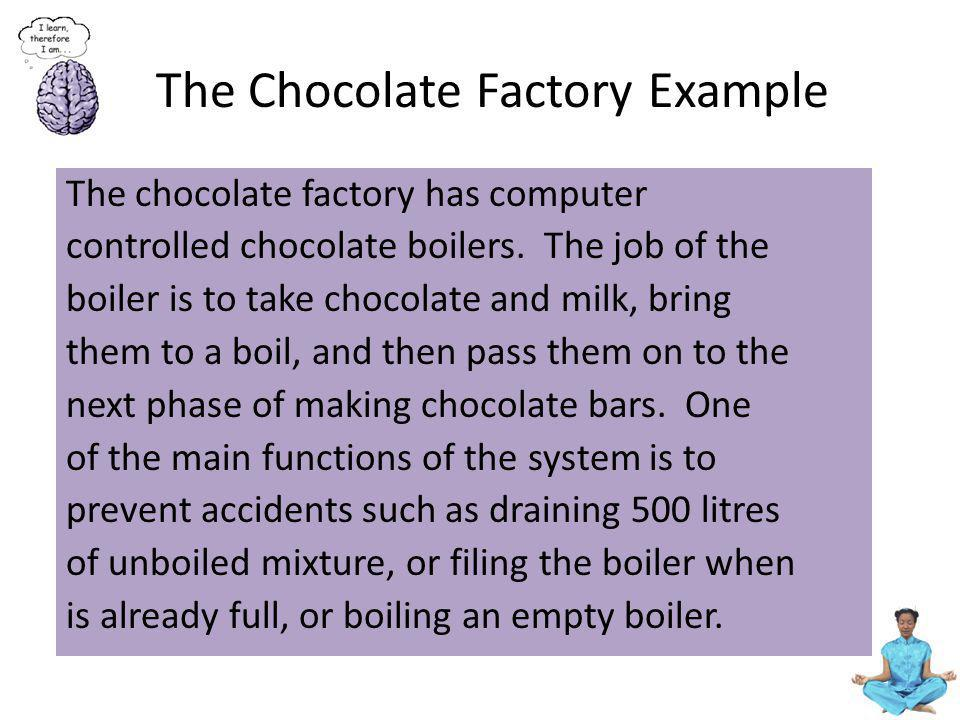 The Chocolate Factory Example