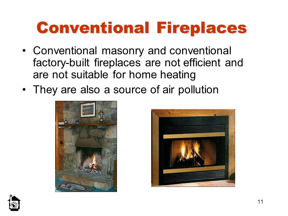 Conventional Fireplaces