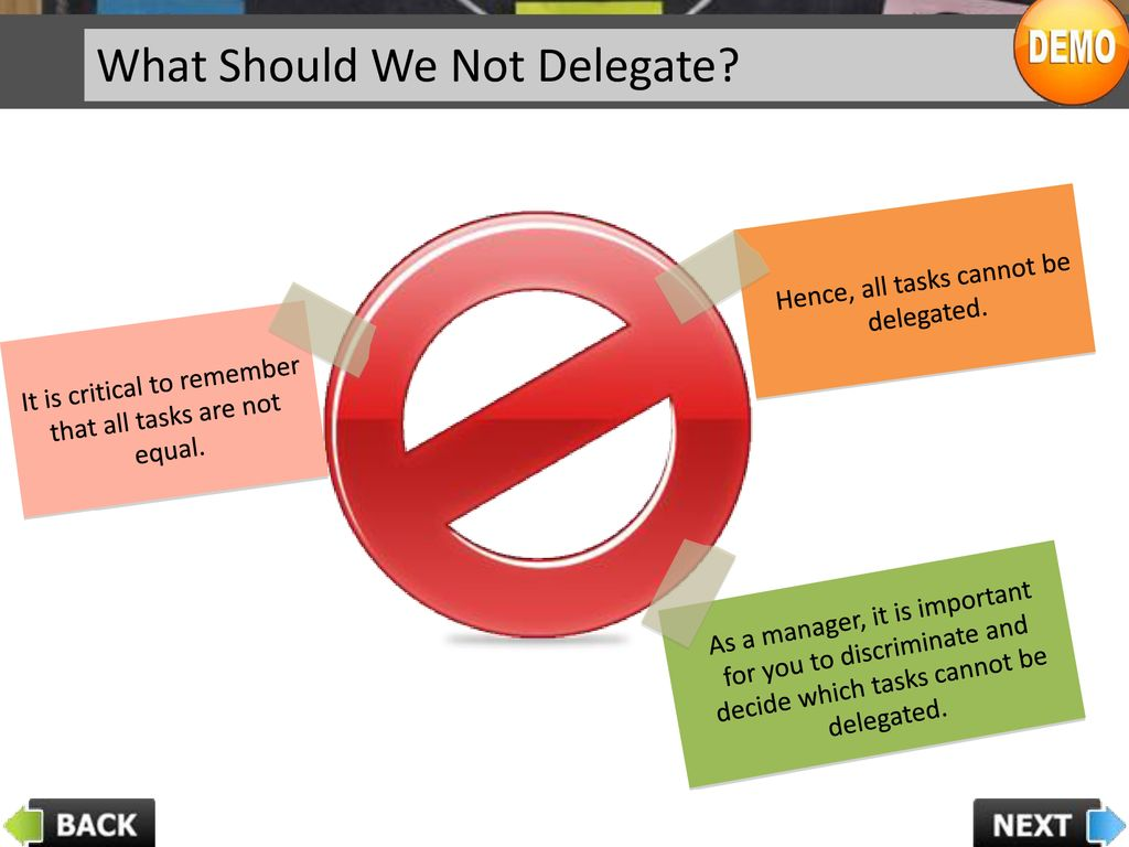 Delegation Skills Ppt Download