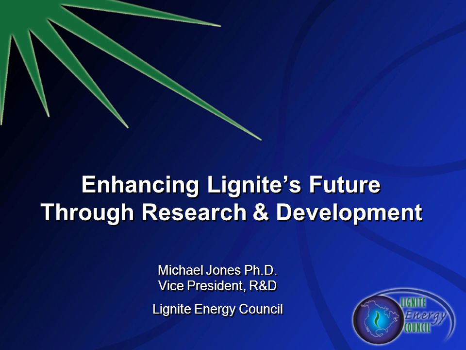 Enhancing Lignite's Future Through Research & Development