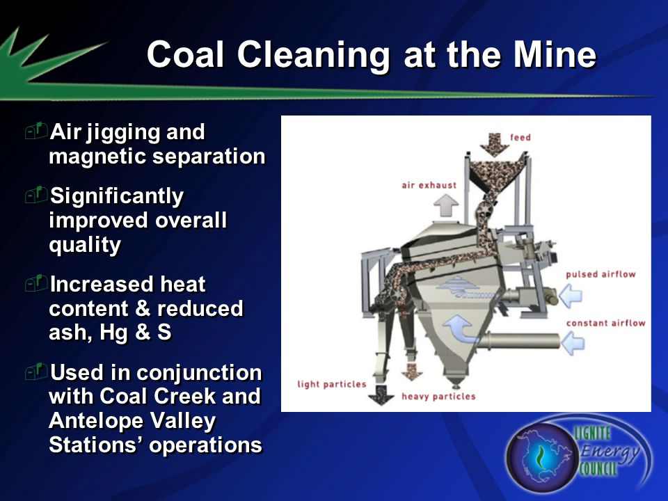 Coal Cleaning at the Mine