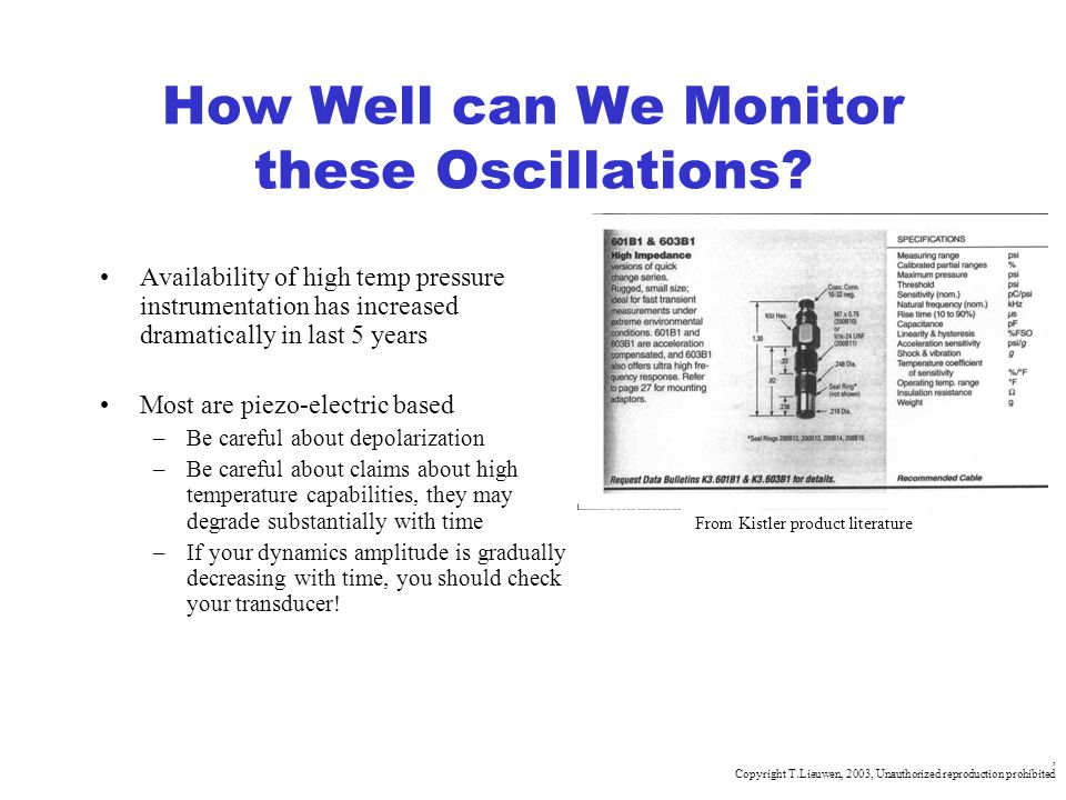 How Well can We Monitor these Oscillations