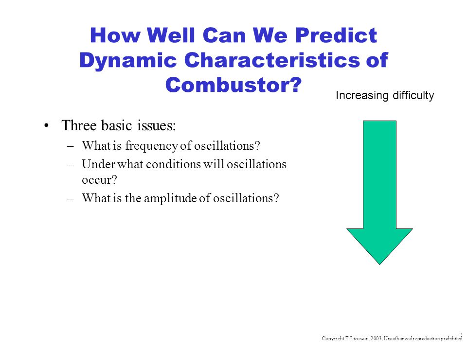 How Well Can We Predict Dynamic Characteristics of Combustor