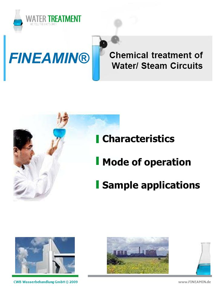 FINEAMIN® Characteristics Mode of operation Sample applications