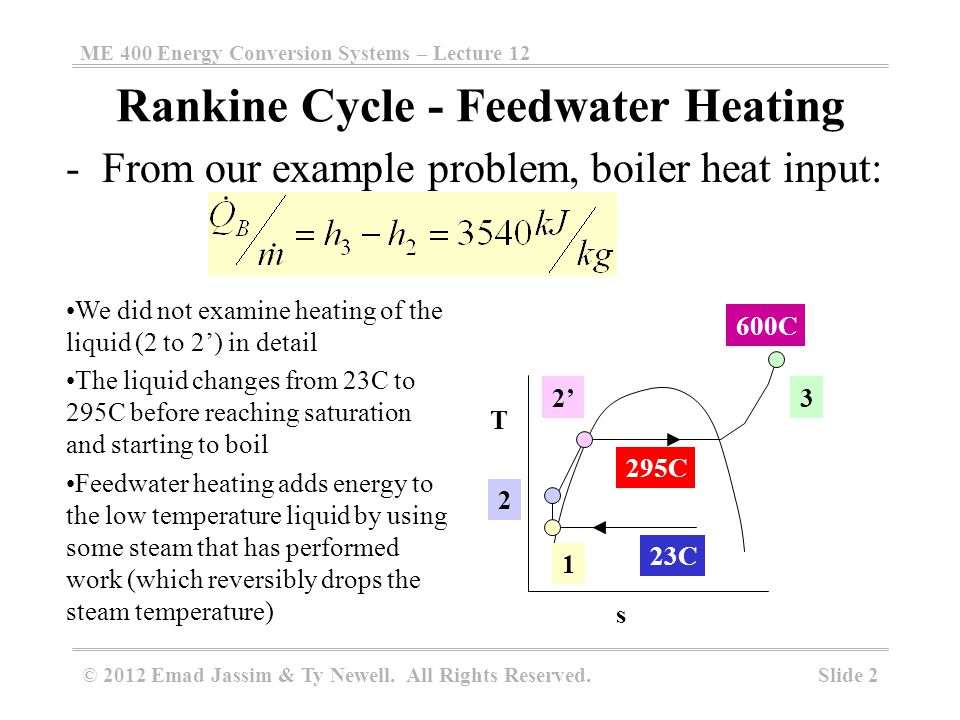 Tutorial questions reheat rankine cycle.