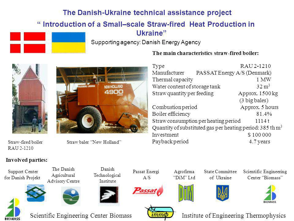 The Danish-Ukraine technical assistance project