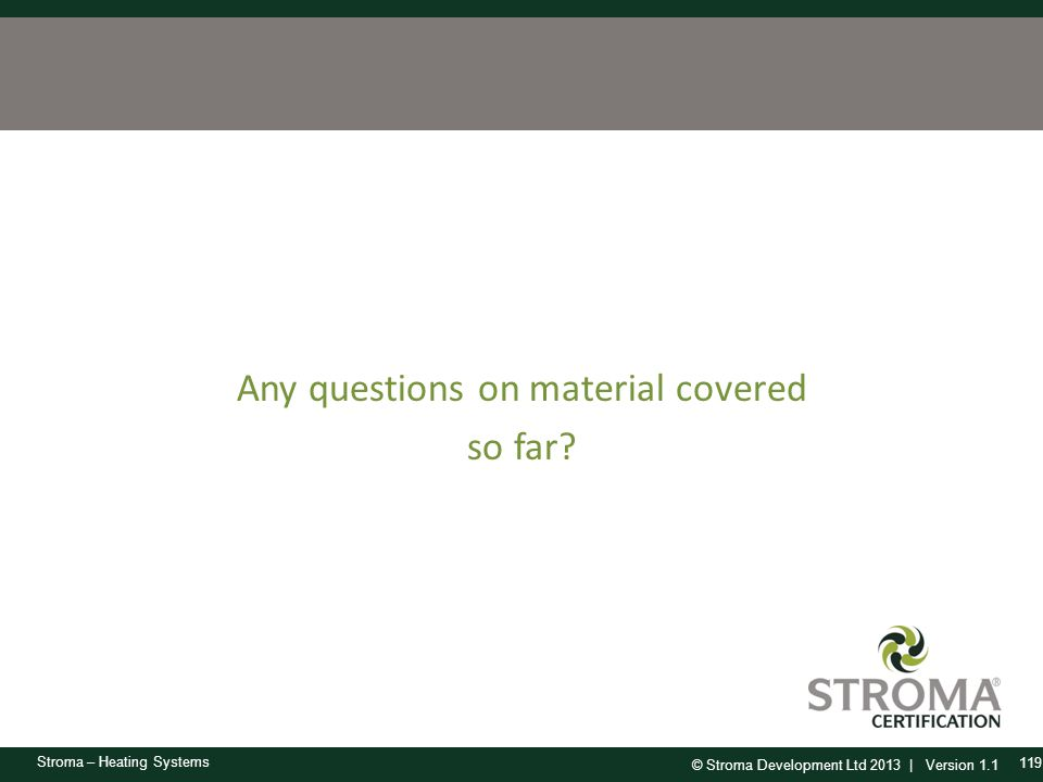 Any questions on material covered