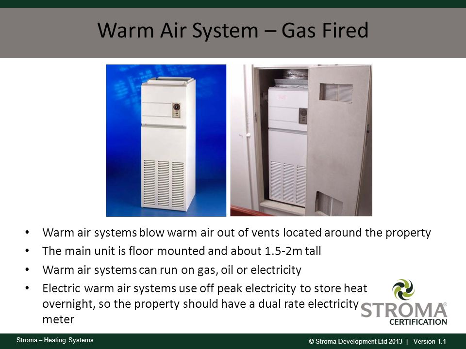 Warm Air System – Gas Fired
