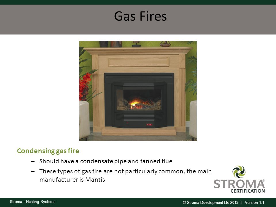 Gas Fires Condensing gas fire
