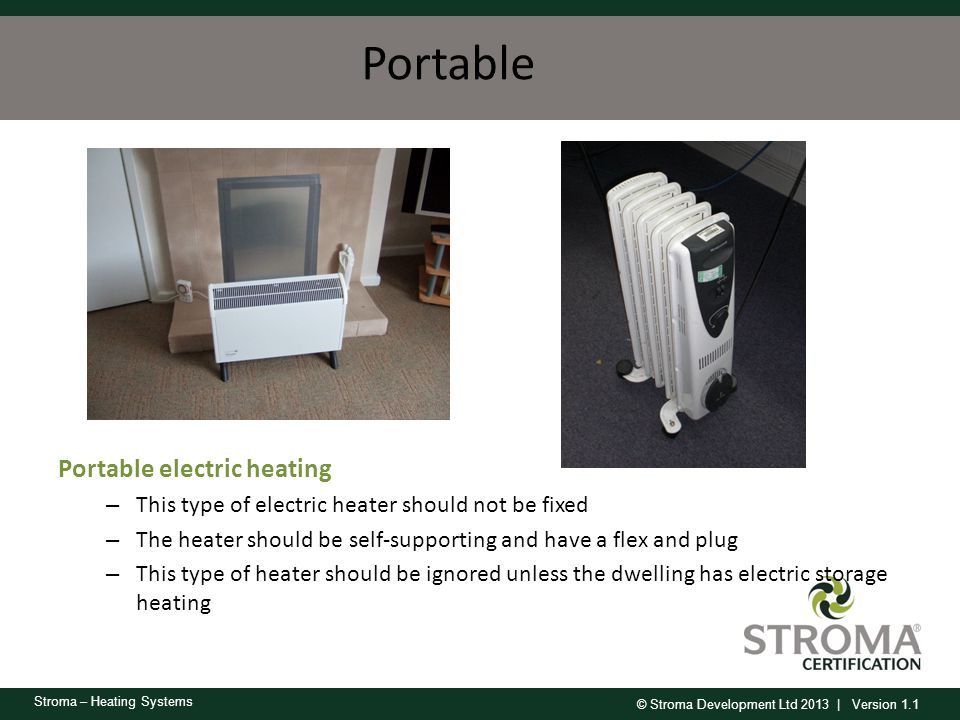 Portable Portable electric heating