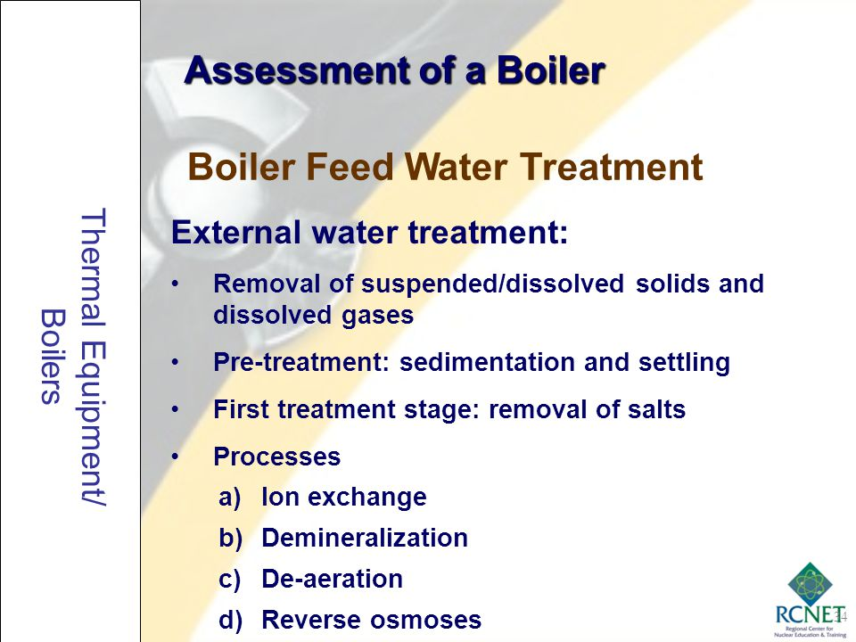 Boiler Feed Water Treatment