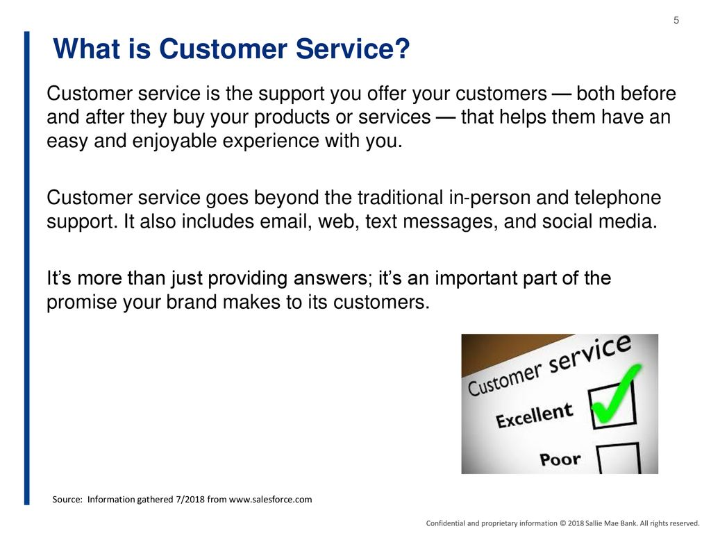 In person customer service interactions