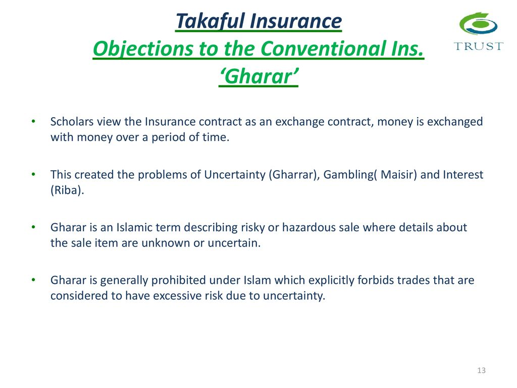 Takaful Insurance Lecture 3 Ppt Download