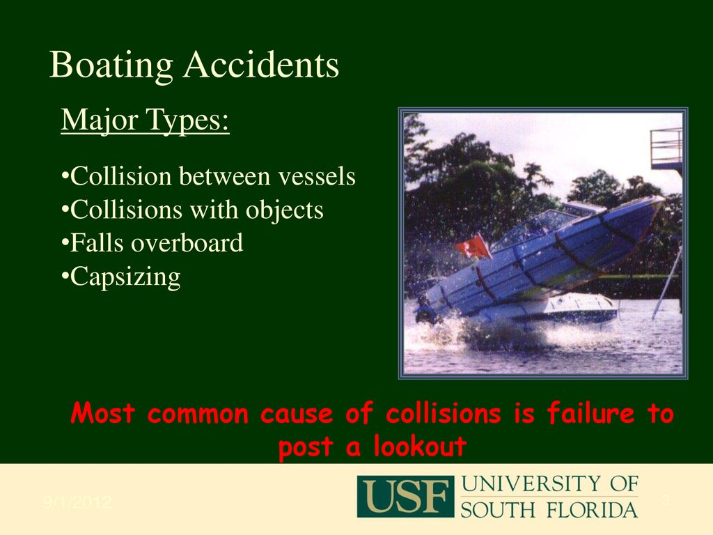 Lifesaving & Survival Boating Safety USF/MOCC Course Ben